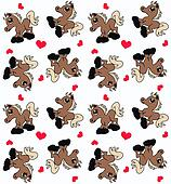 seamless horse pattern