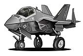 US Navy F-35C Lightning II JSF Jet