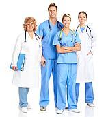 Smiling medical nurse