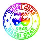 Mardi Gras stamp