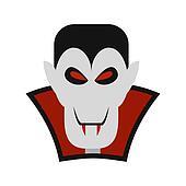 Vampire dracula icon