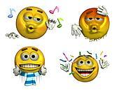Four-Emoticons - 8