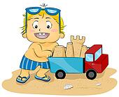 Sand Castle Truck