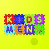 Kids Menu cover
