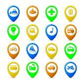 Navigation pins