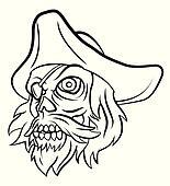 Pirated Skull
