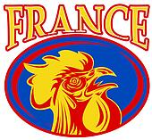 france mascot rooster rugby