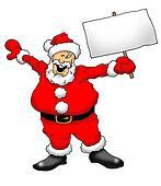 Santa With Sign 001
