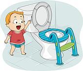 Baby Flushing Toilet