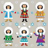 Cute Eskimos