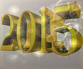 2015 New Year Background concept