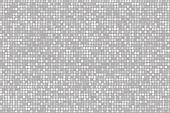 Polka dot background, black and white