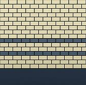 3d graphical render of blue gray ivory tile wall