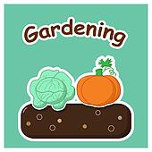 Gardening with vegetables