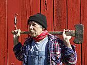 rugged ax man