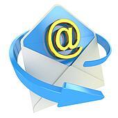 E-mail concept icon