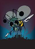 The last honey bee