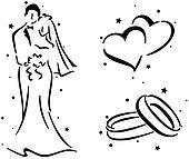 Wedding Stencil