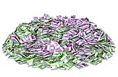 Huge pile of money