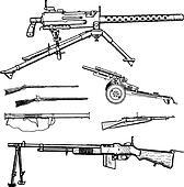 Vector War Guns