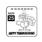 Thanksgiving Holiday Calendar