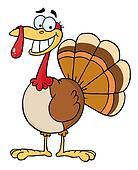 Thanksgiving Turkey Bird Smiling