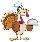 Happy Turkey Chef