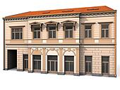 Building Eclectic Renaissance House