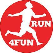 Marathon runner running race
