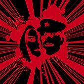Grunge poster art