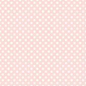 Seamless pink polka dot background