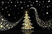 Christmas tree New Year