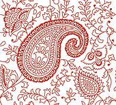 Indian Textile Pattern