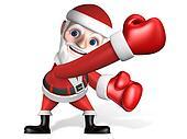 3d santa's funny sports