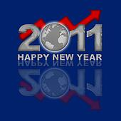 Happy New Year 2011 Global Financial