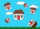 Real Estate Housing Bubble Burst