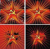 Communist background