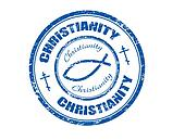 Christianity stamp