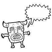 tribal shaman cartoon