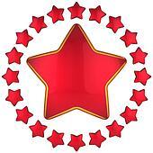 Red star award