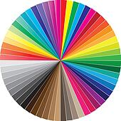 Color swatces circle