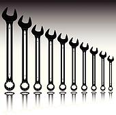 mechanic tool vector illustration