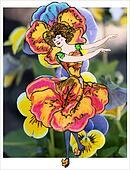 Pansies Children Flower