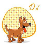 illustration of dog