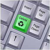 recycle keyboard button