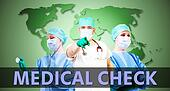 Medical check Background