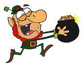 Leprechaun Run with a Pot of Gold