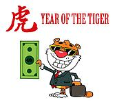 Tiger Chinese Symbol And Text