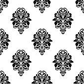 Damask pattern background