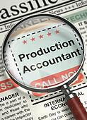 Production Accountant Join Our Team. 3D.